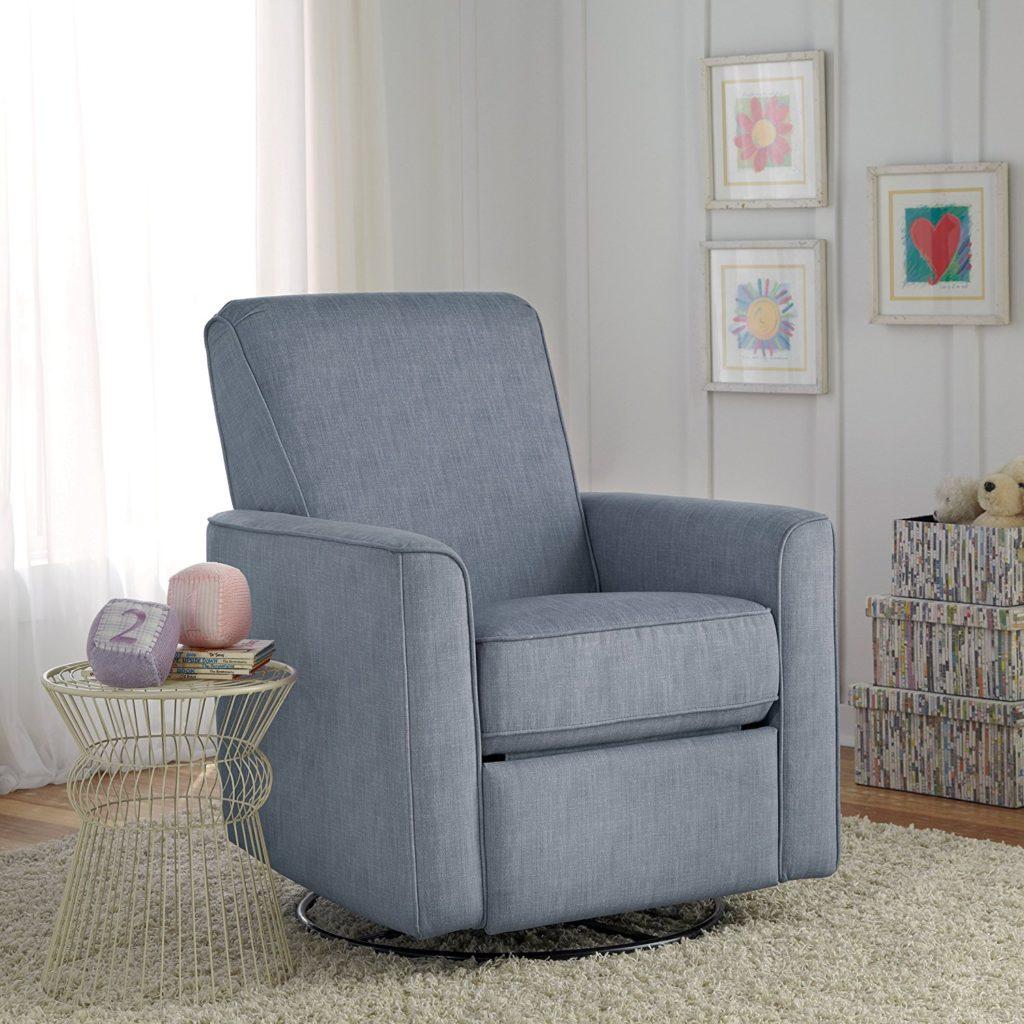 Pulaski Harmony Swivel Glider Chair Carlton Dove