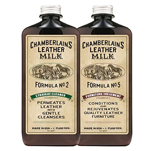 Leather Milk Leather Furniture Cleaner and Conditioner Kit